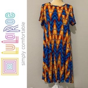 LuLaRoe Carly High-Low Dress